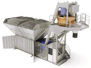 electric concrete batching plant