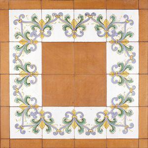 terracotta border tile