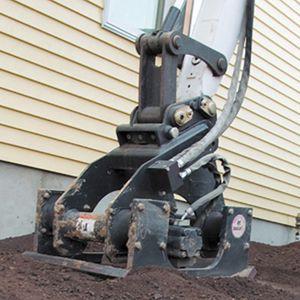 excavator plate compactor
