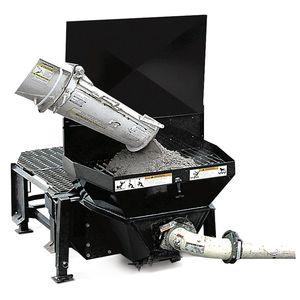 loader concrete pump