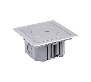 floor-mounted electrical box