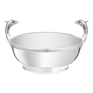 silver-plated centerpiece