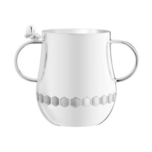 silver-plated cup
