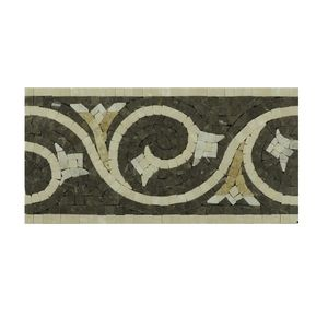 natural stone border tile