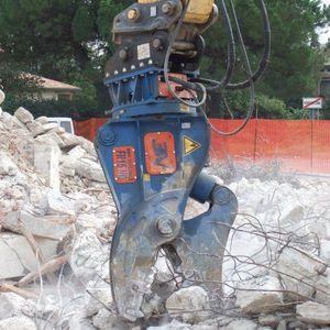 hydraulic demolition grapple