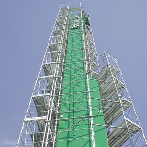 galvanized steel scaffolding / high
