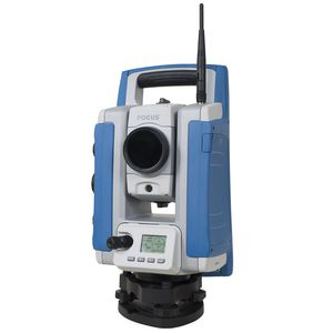 total station with prism
