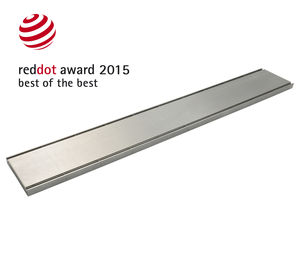 galvanized steel drain grate / stainless steel / for public spaces