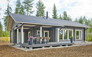 prefab house / traditional / wooden frame / energy-efficient
