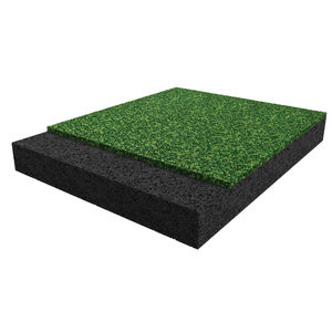 recycled rubber flooring / EPDM / interior / exterior