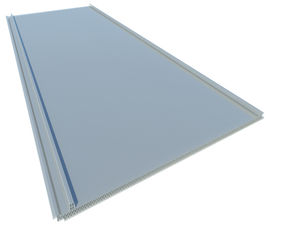 honeycomb polycarbonate panel / for roofs / translucent