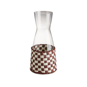 glass carafe / Japanese paper
