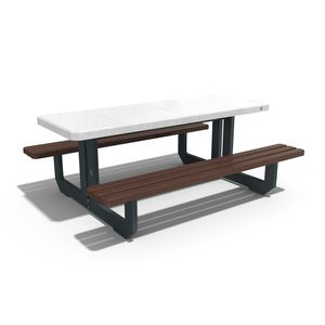 contemporary picnic table