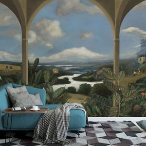 traditional wallpaper / fabric / vinyl / nature pattern
