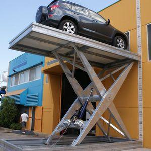 hydraulic parking platform