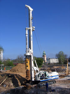 diesel engine drilling rig