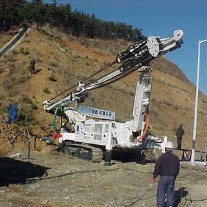 diesel engine drilling rig