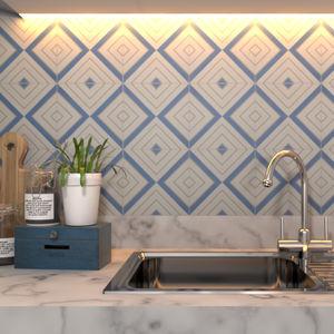 indoor encaustic cement tile / outdoor / wall / floor