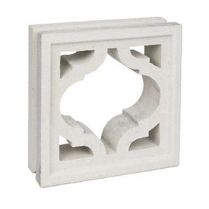 perforated concrete block
