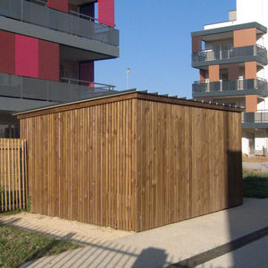 secure cycle shelter