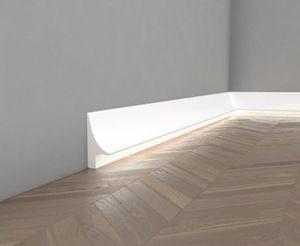 Light Baseboard Skirting All