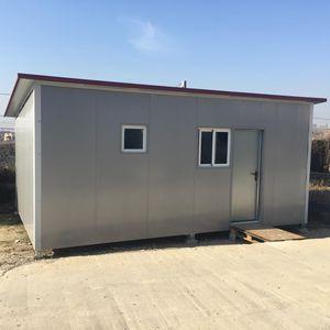 prefab house / modular / contemporary / steel framing