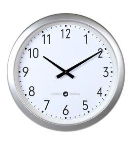 contemporary clocks / analog / wall-mounted / LED