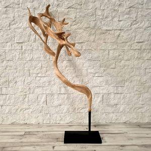 teak sculpture