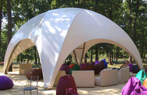 metal frame tensile structure / roof / for shelters / for carports