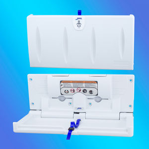 polyethylene changing table / horizontal / commercial