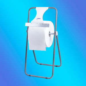 floor-mounted toilet paper dispenser