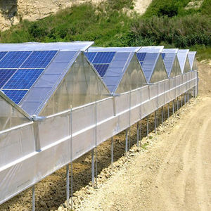 polycrystalline PV panel / in-roof / for greenhouse