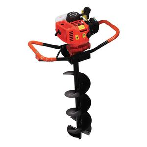 combustion engine earth auger