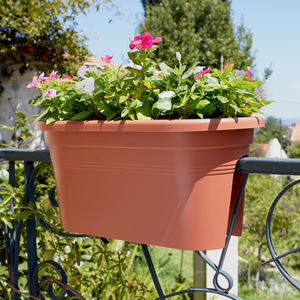 polyethylene garden pot