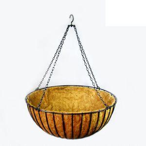 steel garden pot