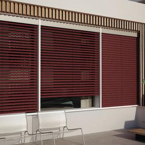 Venetian blinds / aluminum / outdoor / motorized