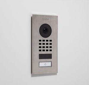 telephone-operated video door intercom