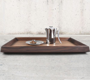 wooden serving tray / for hotel rooms / for restaurants