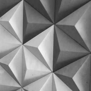 indoor tiles / wall / concrete / triangular