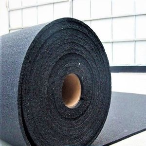 recycled rubber flooring / polyurethane / non-slip / low-VOC