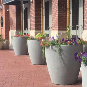fiberglass garden pot