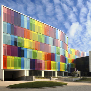 PVB Polyvinyl butyral architectural glass