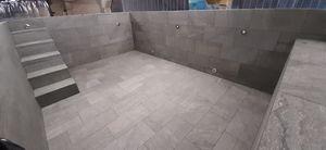 wall swimming pool