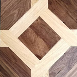 engineered parquet floor / glued / nailed / oak
