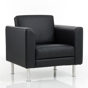 Surprising Leather Visitor Armchair All Architecture And Design Bralicious Painted Fabric Chair Ideas Braliciousco