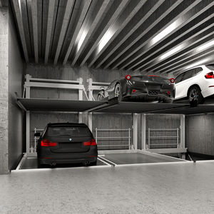 multi-directional parking platform / electric / hydraulic