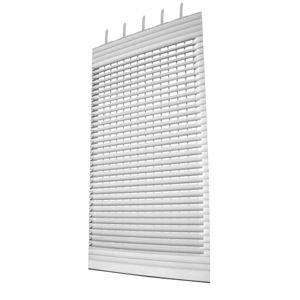 roller shutters / louvre / extruded aluminum / window