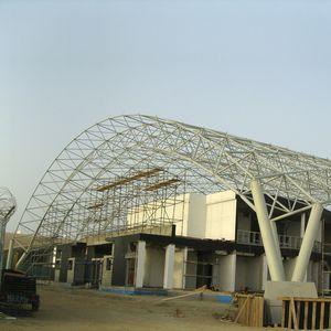 sprung arch structure metal truss