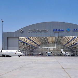 airport metal truss