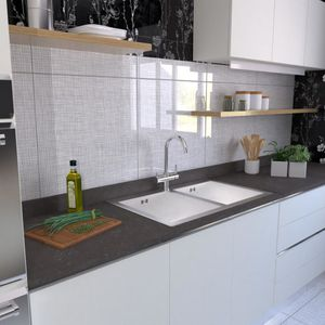 cover decorative panel / glass / wall-mounted / backsplash